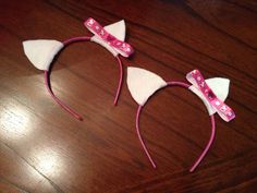 Made these for Saylor's Hello Kitty party