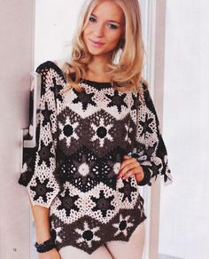 Any inspirations Croche with Lucy: Tunic
