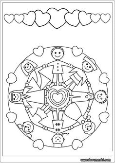 Mandalas Bring Relaxation And Comfort To Adults All Over The World Are One Of Our Favorite Things Color Kids Can Them Too