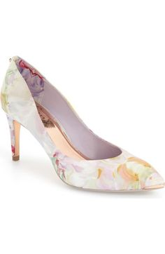 f739b6935eb Ted Baker London  Charmesa 2  Floral Satin Pump (Women) available at
