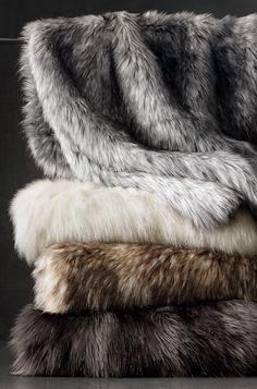 2015 RH Holiday / Exotic Faux Fur Throw / Creative Director: Robert Valentine / Photography: France Ruffenach #fur