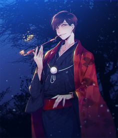 Osomatsu-san- Osomatsu #Anime「♡」Mafia AU