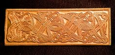 Helm Plaque - Large with Knotwork Beasts - PV17