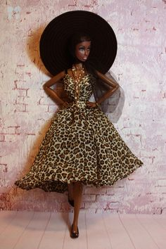 https://flic.kr/p/dpWWCu | Iman | Model : Iman (Josephine Baker La Baker Doll) Repaint & Photo : Little Dolls Room.
