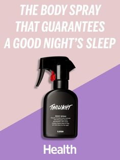 Customers are going crazy for the Twilight Body Spray from Lush Cosmetics, claiming it helps knock them out for a great night's sleep. We asked a sleep expert: Is this new product really effective for catching zzz's? | Health.com