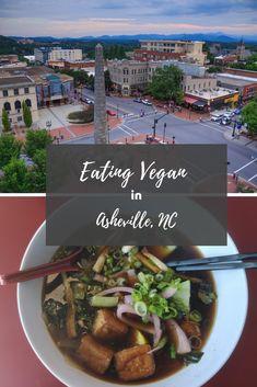 Eating Vegan in Asheville, NC | hotandsourblog.com