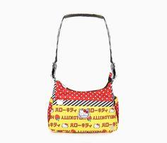 Hello Kitty Bag: Strawberry Stripes