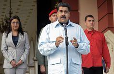El veto de Maduro a la ley de amnistía abre otro conflicto de poderes en Venezuela La Asamblea Nacional, controlada por la oposición, ha aprobado la Ley de Amnistía, que debería liberar a 78 personas presas por motivos políticos El presidente Maduro, el miércoles en Caracas.