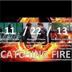 The hidden meanings behind the Catching Fire release date. ***spoiler alert!***