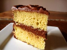 [high altitude] yellow cake