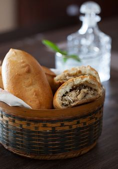 "Russian Monday: ""Pirozhki"" - Baked Stuffed Pies #russian, #recipes, #appetizer, http://www.melangery.com/2013/07/russian-monday-pirozhki-baked-stuffed.html"
