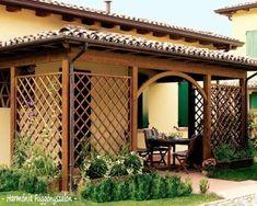 fa Outdoor Living Areas, Pergola, Outdoor Structures, House Design, Wood, Fa, Gardening, Google, Ideas
