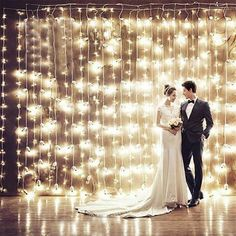 x 300 LED Home Outdoor Holiday Christmas Wedding Decorative xmas String Fairy Curtain Garlands Strip Party Lights Christmas Fairy Lights, Christmas Party Decorations, Holiday Lights, Light Decorations, Garden Party Decorations, Garland Decoration, Christmas Garlands, Home Wedding Decorations, Marriage Decoration