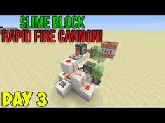 minecraft how to make a slime block cannon minecraft minecraft how to make a rapid fire tnt cannon slime block creations ccuart Image collections