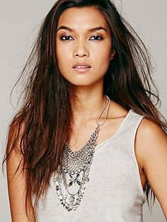 Free People Tylo Statement Necklace