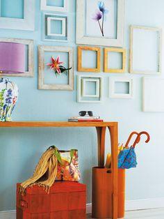Recibidores decorados en azul | Decoración Hogar, Ideas y Cosas Bonitas para Decorar el Hogar