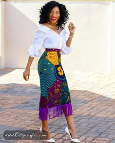 ankara mode weekend ankara styles collection - - Weekend Ankara Styles Collection You Should See - photo Beautiful Ankara Styles, Trendy Ankara Styles, African Print Skirt, African Print Dresses, African Dress Styles, Ankara Long Gown Styles, African Fashion Ankara, African Print Fashion, Modern African Fashion