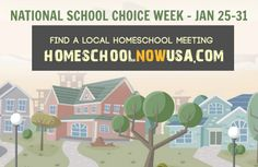 Homeschool Now USA - Promoting Homeschooling During School Choice Week | HSLDA Blog
