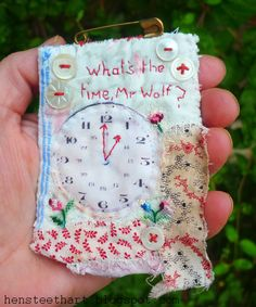 what's the time mr. wolf ? brooch