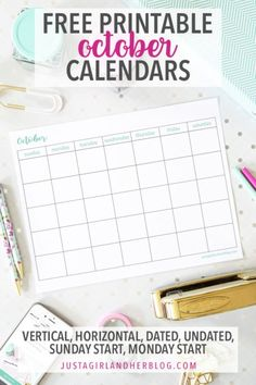 September calendar pages can help you organize your month, make the most of your time, plan upcoming events, and more! Grab these free September printable calendars and get planning! September Calendar, 2019 Calendar, Planning Calendar, Free Printable Calendar, Calendar Pages, Printable Designs, Free Printables, Organization Hacks, Organizing Tips