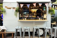 'Summer Street' Very Famous truck food. Coffee Van, Coffee Shop, Food Trucks, Foodtrucks Ideas, Coffee Food Truck, Food Business Ideas, Catering Van, Coffee Trailer, Hipster Food