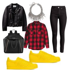 """""""Street 3"""" by bronzebrookiepro on Polyvore featuring adidas Originals, Calvin Klein, women's clothing, women's fashion, women, female, woman, misses and juniors"""