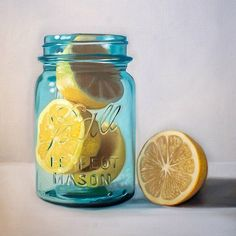 Citrus Jar by Lauren Pretorius