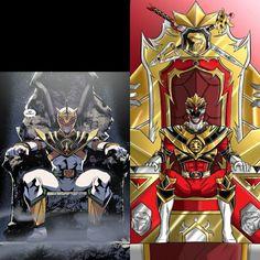 Power Rangers to Lord Drakkon and King Tyranno!!!