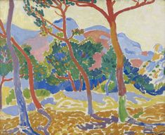 André Derain's The Trees, ca. 1906