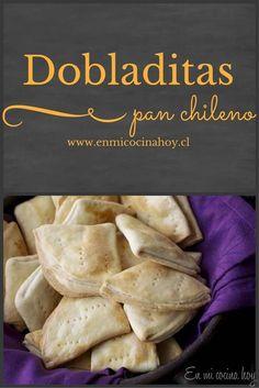 Dobladitas Tattoos And Body Art japanese tattoo art Bread Recipes, Pizza Recipes, Chilean Recipes, Chilean Food, Good Food, Yummy Food, Salty Foods, Comida Latina, Pan Bread