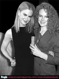 PEOPLE's 'Most Beautiful' Celebrities Posing with Their Younger Selves| Nicole Kidman in 2013 and 1988