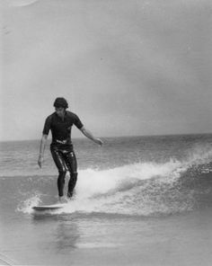 Surfing at Fistral Beach, Newquay 1970s