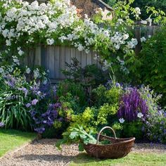 Nice 25 Cottage Style Garden Ideas https://fancydecors.co/2018/03/03/25-cottage-style-garden-ideas/ A variety of plants can work nicely here. Do not neglect to reflect on how big the plant will widen as well #CottageGarden
