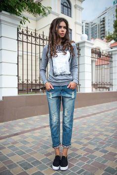 aa233f5087 Modische verkürzte Jeans  wie man wählt