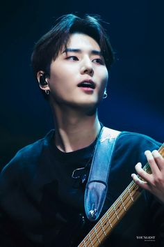 Young K Day6, Bad Songs, Korean Boy, Photo Cards, Kpop, Musicians, Babe, Happiness, Love Of My Life