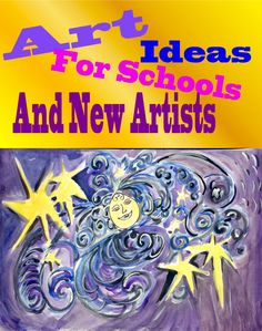 Instant art lessons for schools. Need an art lesson in a hurry? This idea works with all age groups and can be modified for paints, crayons, partner work or even story telling. Extend art session into cross-curricular work such as English, drama, Science. A fantastic way to let pupils' imaginations fly away.