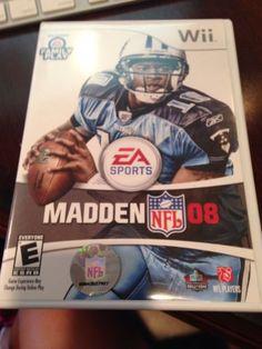 Madden NFL 08  (Wii, 2007)