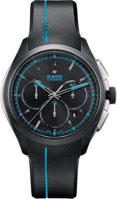 Rado Watch Hyperchrome XXL #bezel-fixed #bracelet-strap-rubber #brand-rado…
