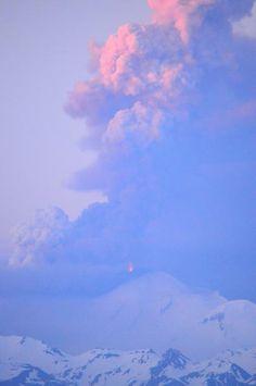 AVO Image, Mt. Pavlof is rocking and rolling in Alaska!