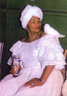 Haitian Vodou Priestess, La Belle Deesse