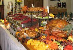 thanksgiving-turkey-buffet-table
