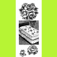 1930s Roses Embroidery Pattern Vintage Hand Embroidery   Etsy Crochet Elephant Pattern, Crochet Slipper Pattern, Towel Embroidery, Embroidery Patterns, Easy Crochet Slippers, Clothespin Dolls, Creative Skills, Doll Tutorial, Vintage Crochet