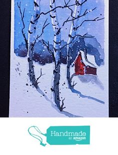ACEO Original Watercolor Painting - by Watercolorist Jim Lagasse from Maine ARTist http://www.amazon.com/dp/B019UB0T3M/ref=hnd_sw_r_pi_dp_gSUFwb0Y87114 #handmadeatamazon