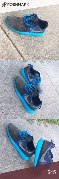 Nike Roshes (Galaxy) Repainted Roshes !! Size 7 Condition 7/10 Nike Shoes Sneakers