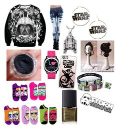 """""""I 💗 Star Wars"""" by punkie707 ❤ liked on Polyvore featuring R2, Casetify and NARS Cosmetics"""