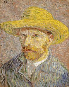 Vincent Van Gogh (1853-1890, Netherlands) | Autoportrait Hiver, 1887 (New York, Met)