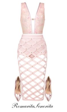 """Chic"" by romaritasenorita ❤ liked on Polyvore featuring Gianvito Rossi"