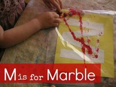 m is for marble p
