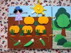 Заметки фетроголика - развивающая книга для девочки