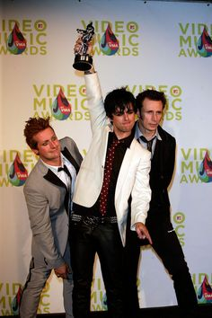 Green Day - 2005 MTV Video Music Awards at the American Airlines Arena on August 28, 2005 in Miami, Florida